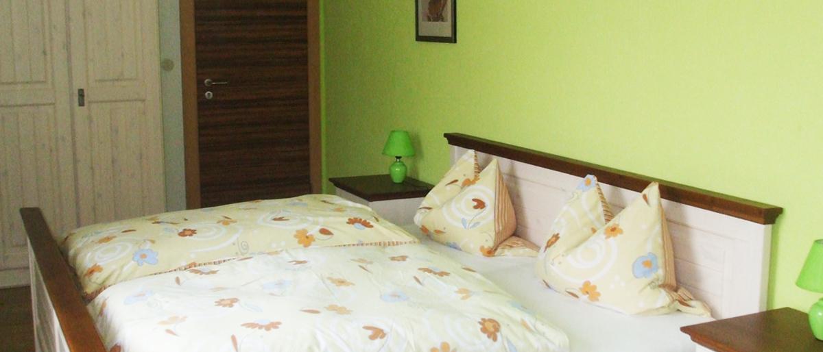 Zimmer in der Pension Steigerwaldhöhe