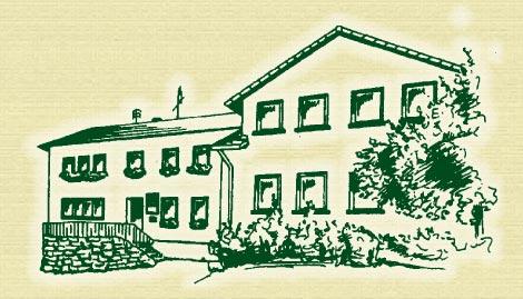 Aussenansicht der Pension Gasthaus Steigerwaldhöhe